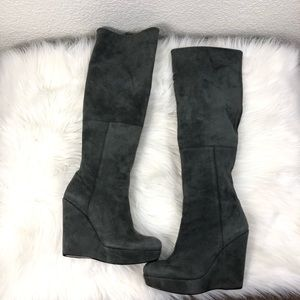 bb27caf7a46c Women s Stuart Weitzman Over The Knee Wedge Boots on Poshmark